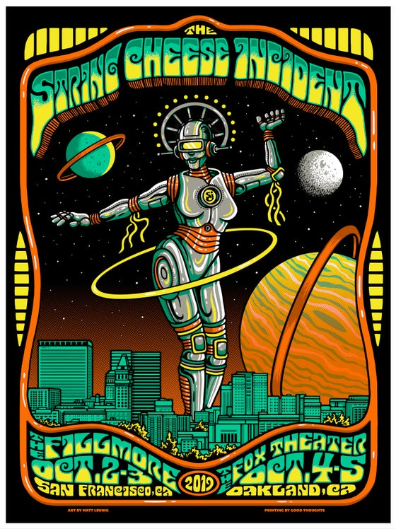 Image of THE STRING CHEESE INCIDENT - SF & Oakland - 2019