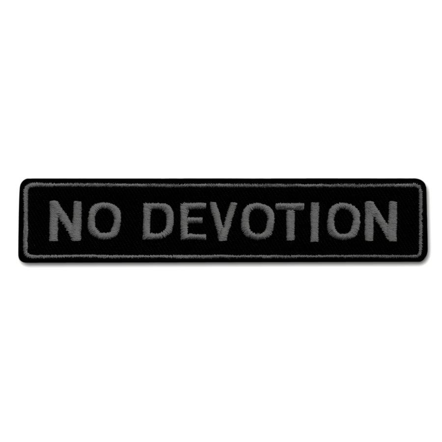 Image of No Devotion Patch