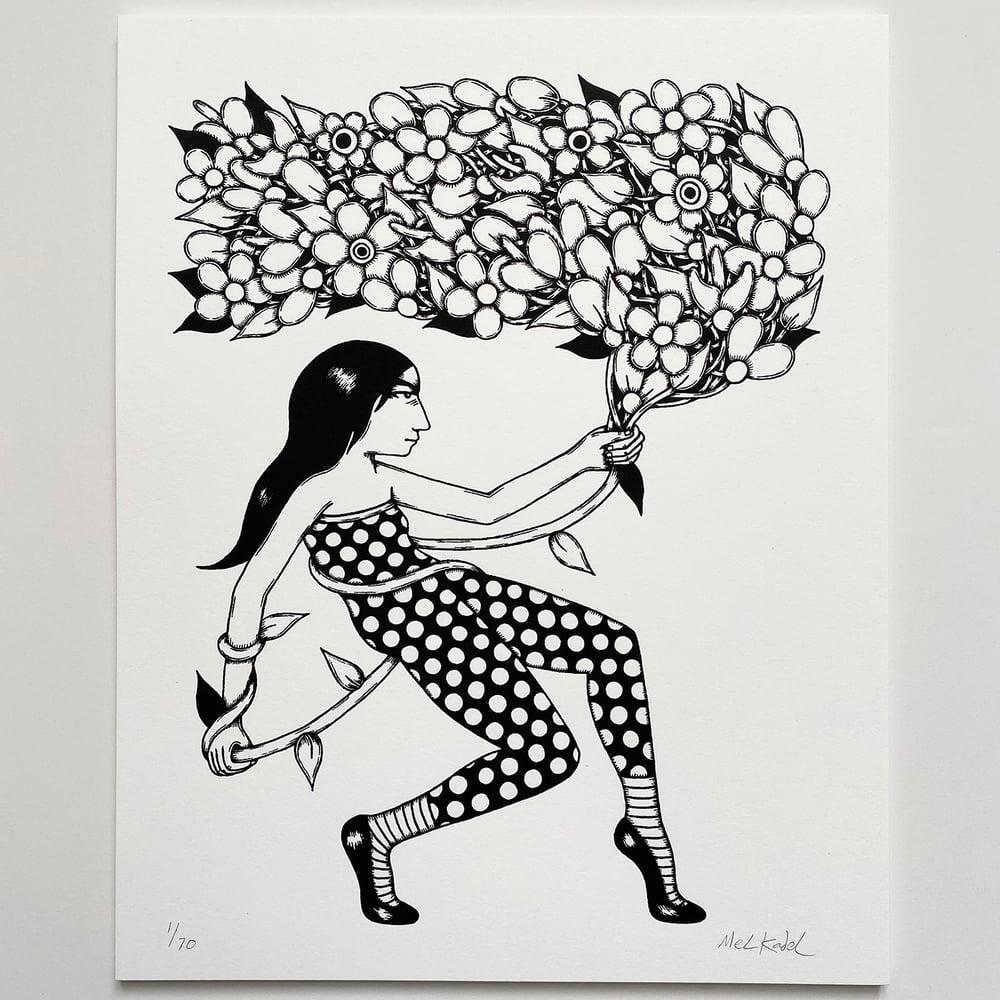 Image of CEREMONY B&W - print