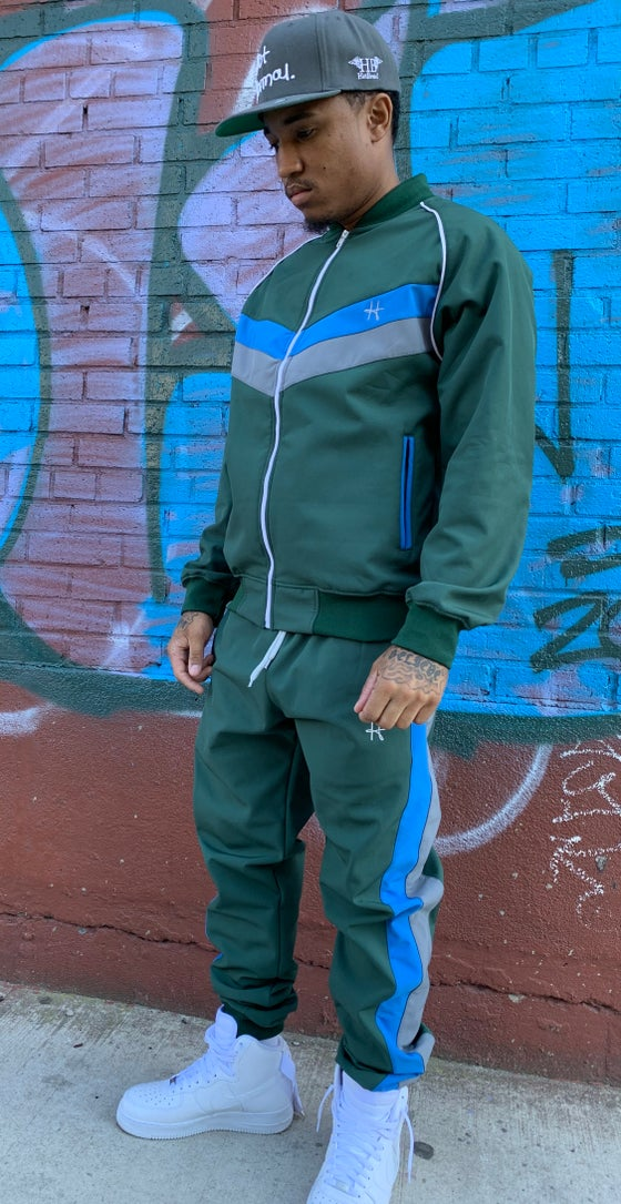Image of Money green Nostalgia tracksuit