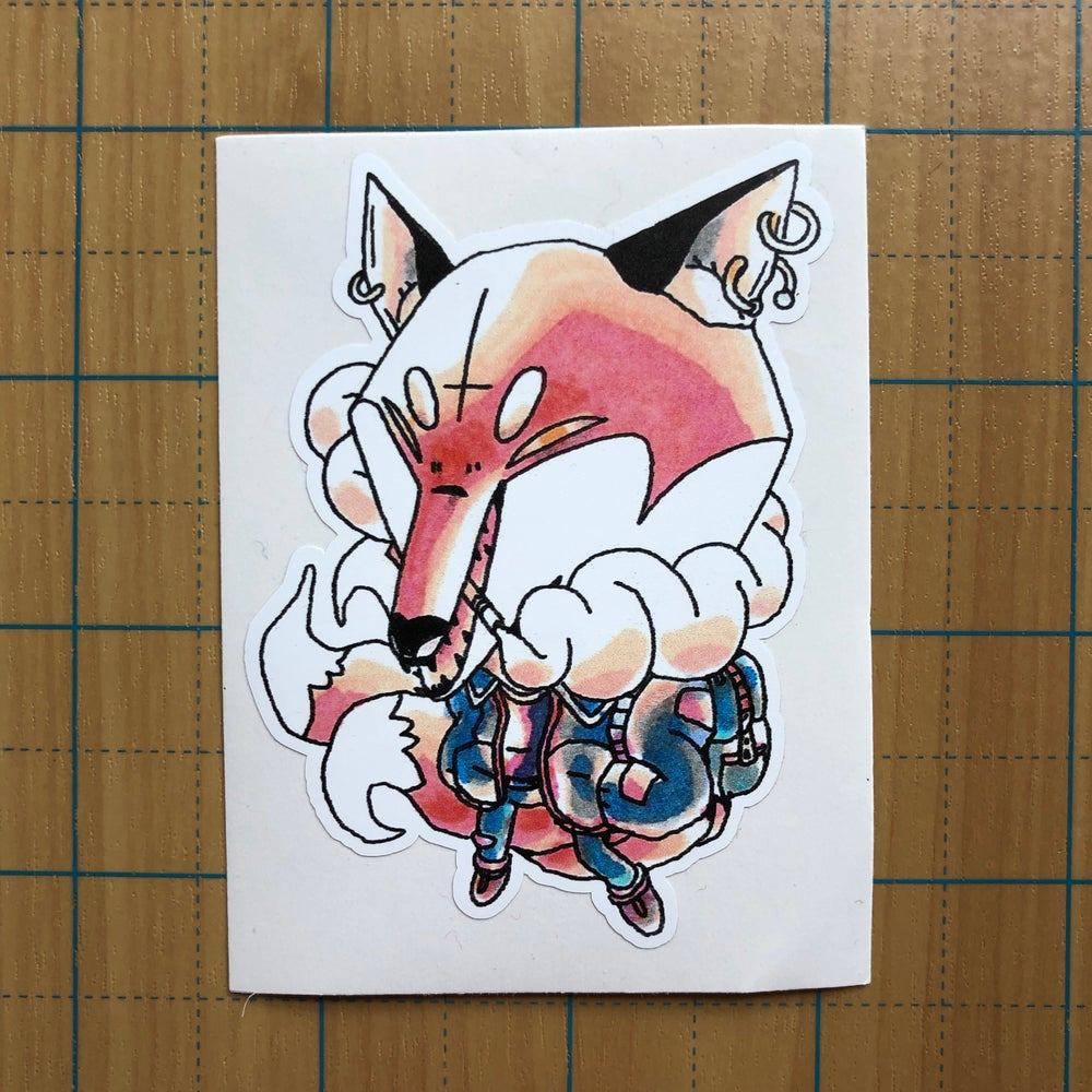 Image of Punk Kitsune sticker