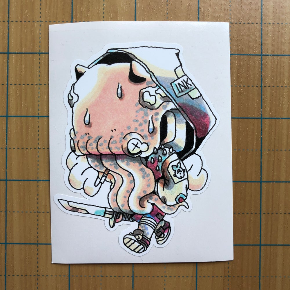 Image of Octo Punk sticker
