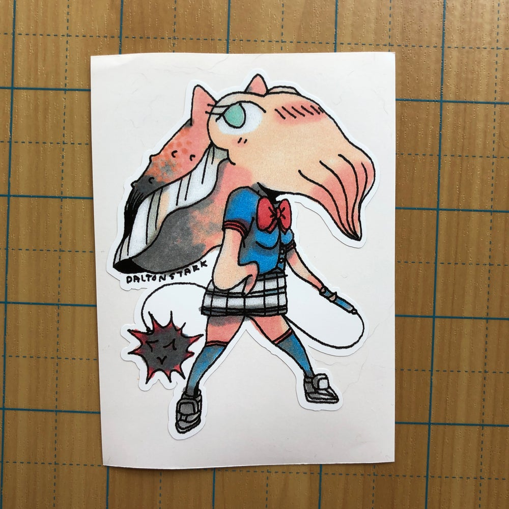 Image of Cuttlefish Cutie sticker