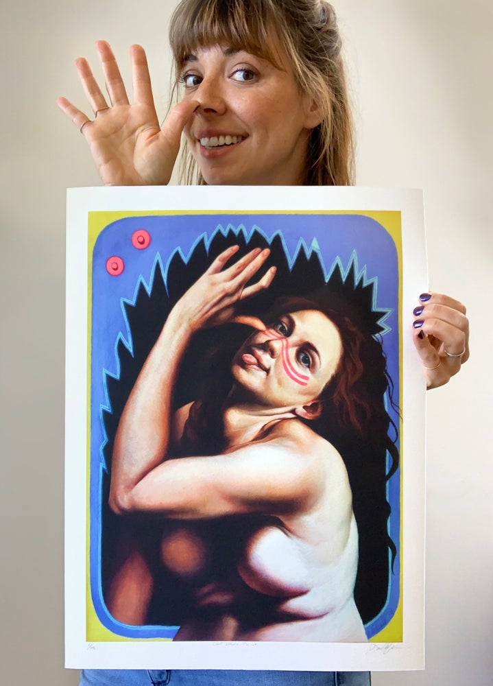 "Image of ""Civil Whore Paint"" Limited-Edition Print"