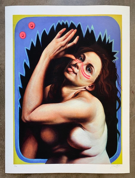 """Image of """"Civil Whore Paint"""" Limited-Edition Print"""