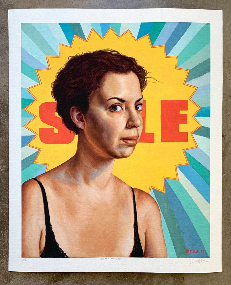 """Image of """"Sister For Sale"""" Limited-Edition Print"""