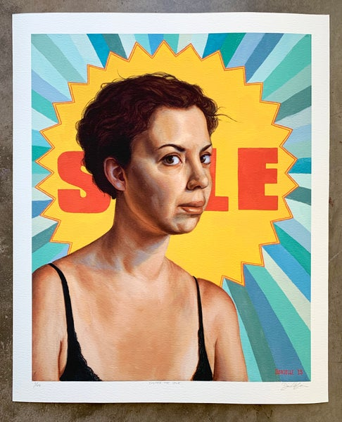 "Image of ""Sister For Sale"" Limited-Edition Print"