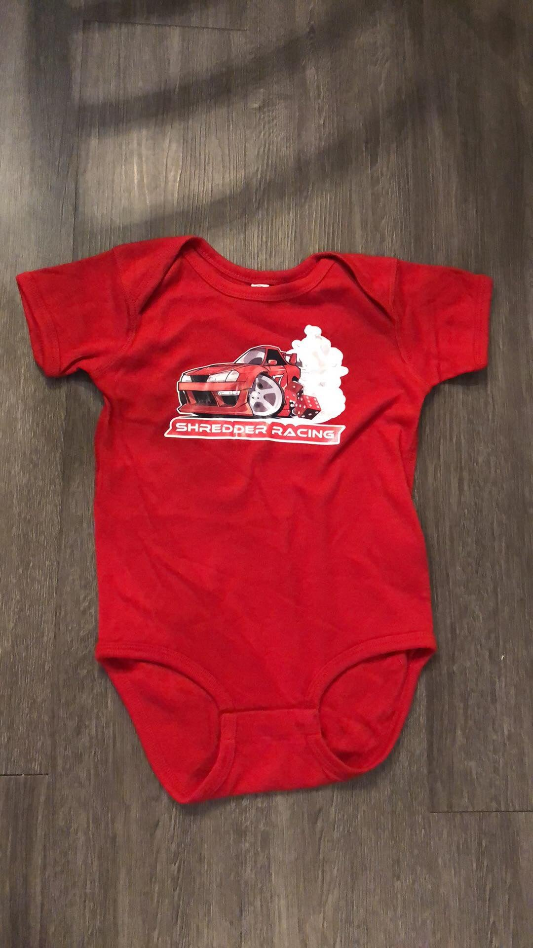 Image of Baby Shredder Racing Onesie