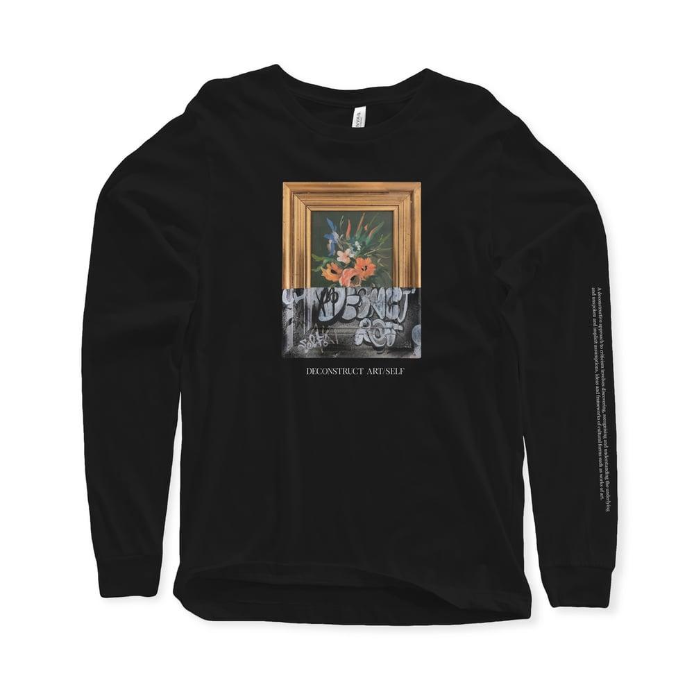 Image of Deconstruct Art/Self Longsleeve Shirt
