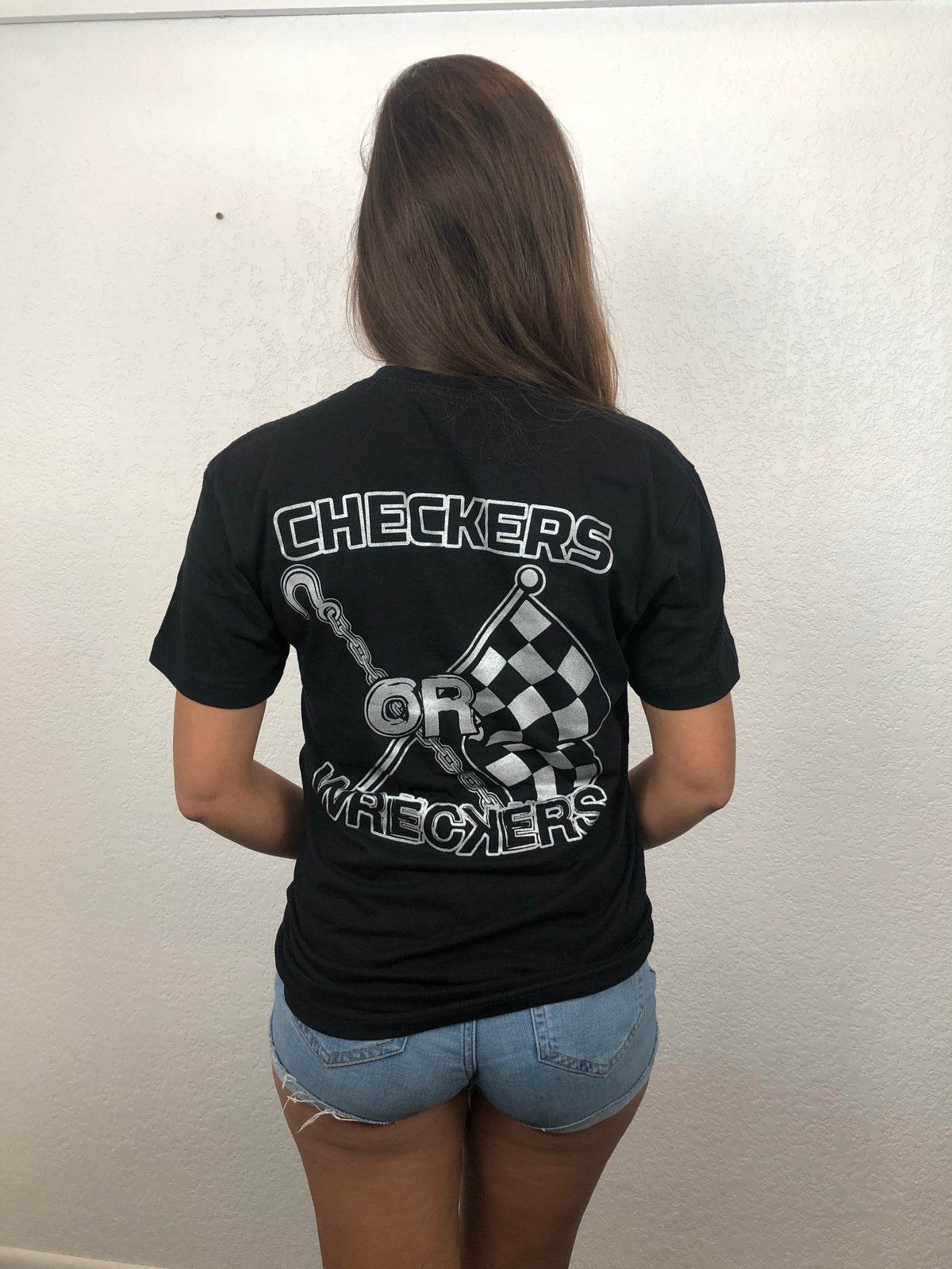 Image of Checkers or Wreckers t-shirt