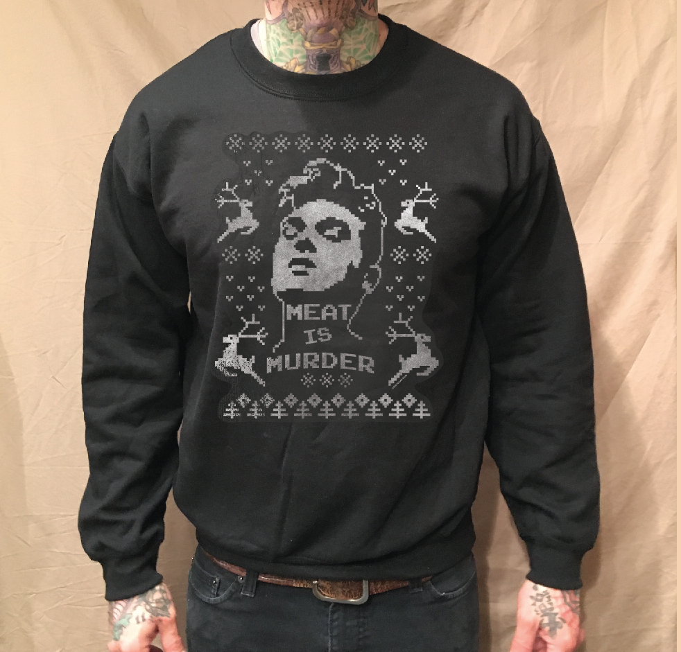 Image of MOZ HOLIDAY BLACK CREWNECK