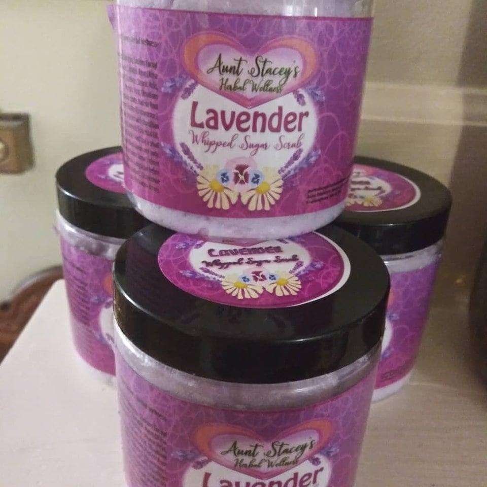 Image of Lavender Whipped Sugar Scrub