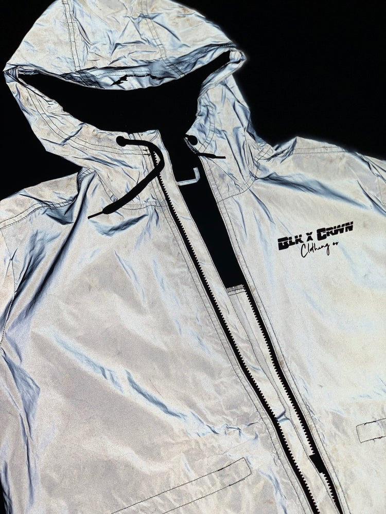 Image of Blk x Crwn 3M Space Jacket