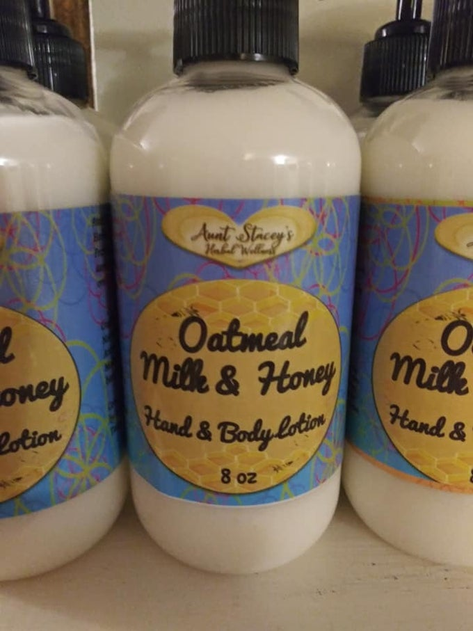 Image of Hand & Body Lotion: Oatmeal Milk & Honey