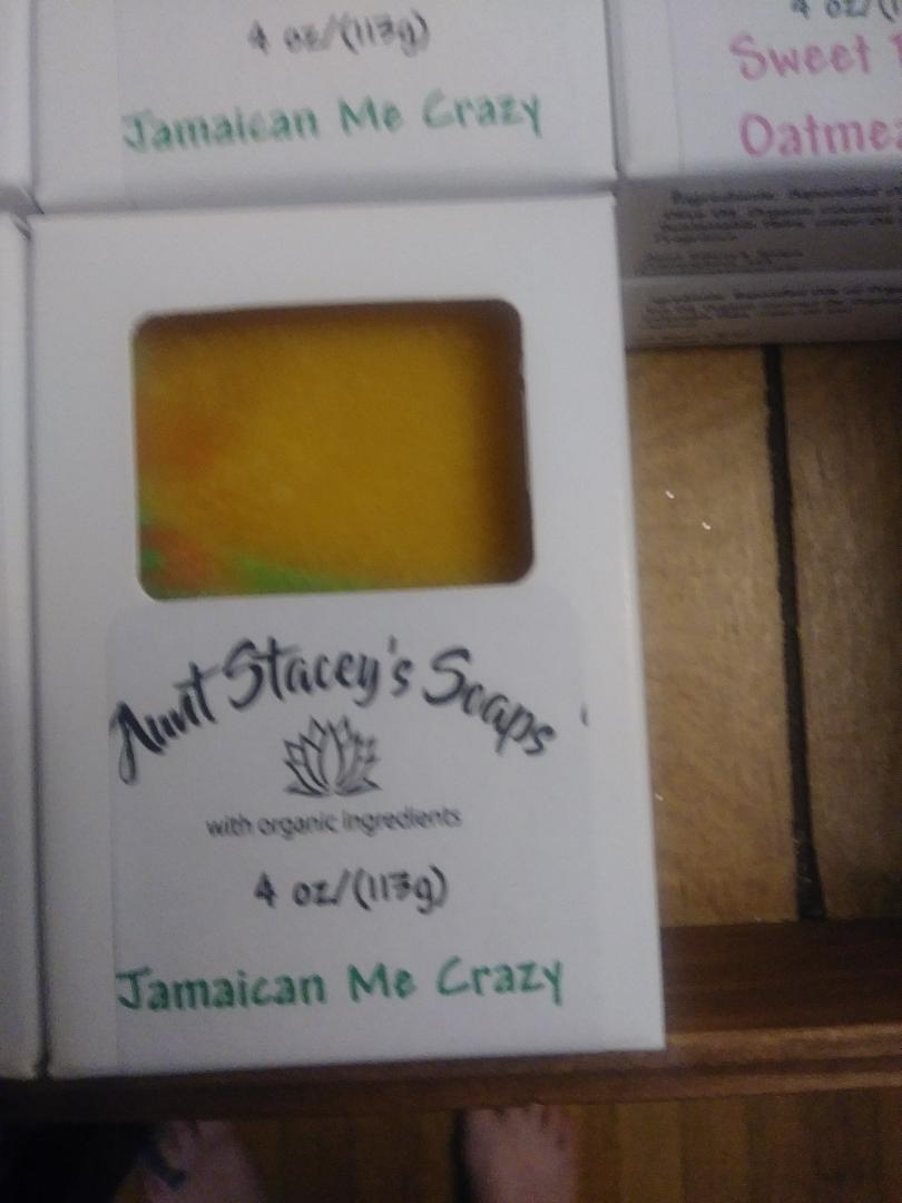 Image of Organic Soap: Jamaican Me Crazy