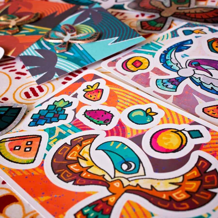 Image of Toucan Sticker Sheets
