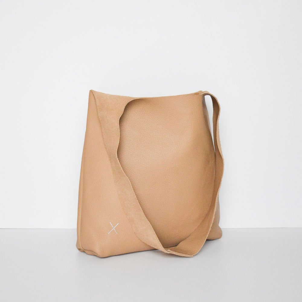 Image of - SALE - Cross Bag Tan LAST ONE