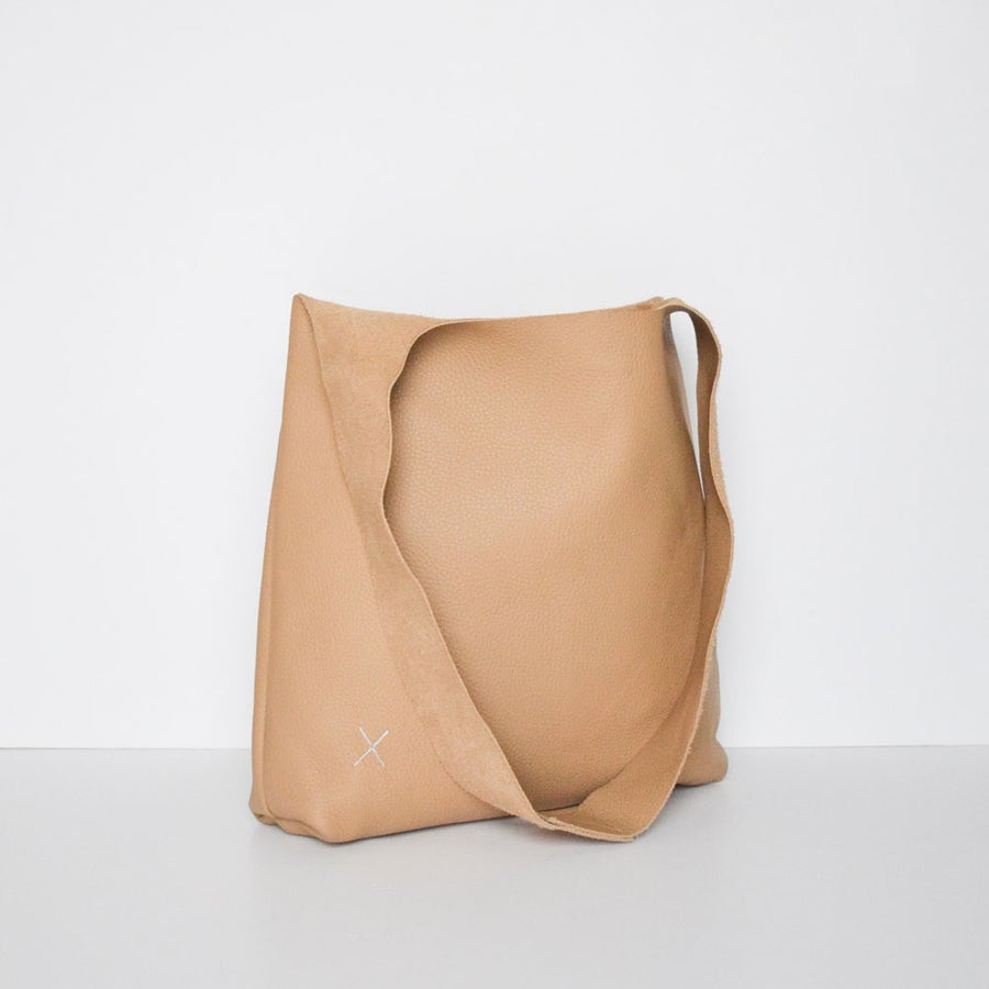 Image of - SALE - Cross Bag Tan
