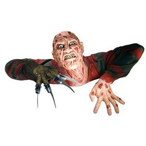 Image of Nightmare on Elm Street Freddy Krueger Grave Walker Statue FREE SHIPPING