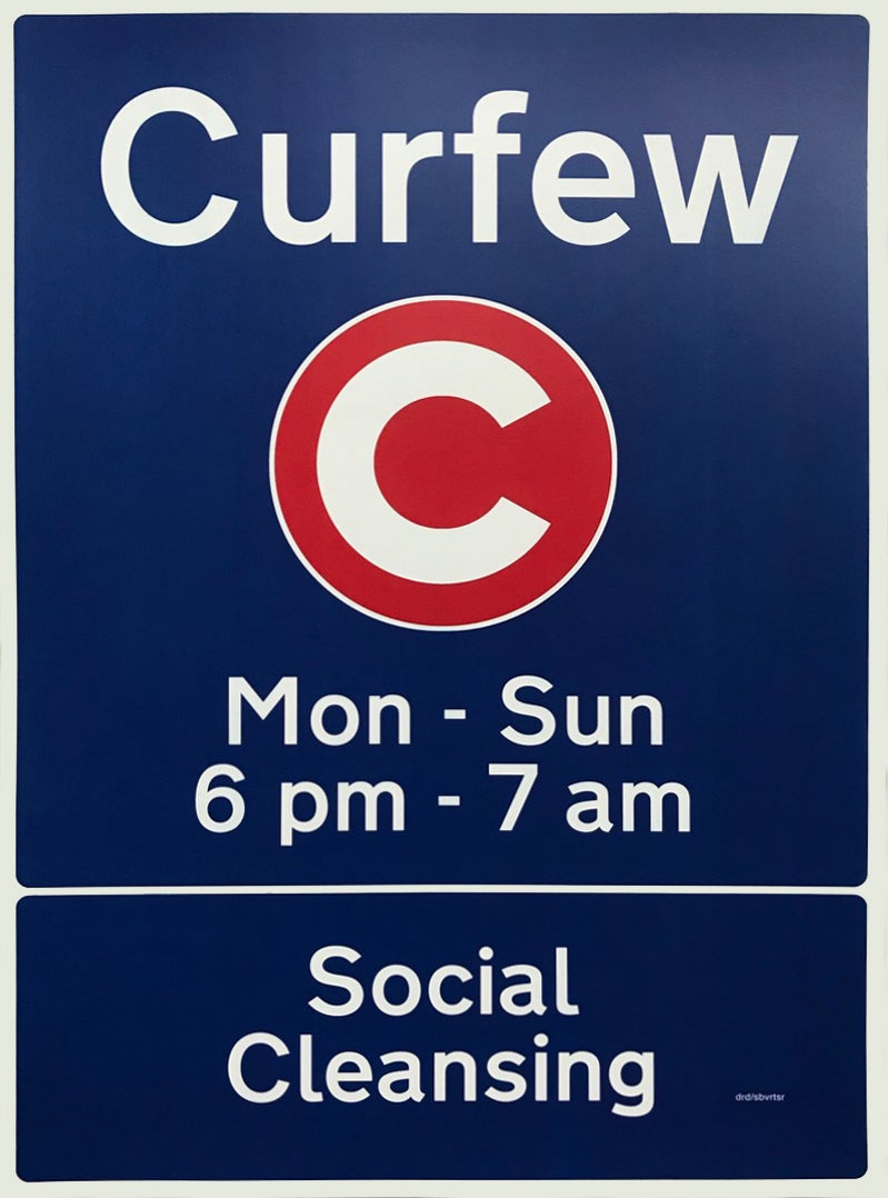 Image of 'Curfew - Social Cleansing'  by Dr.D