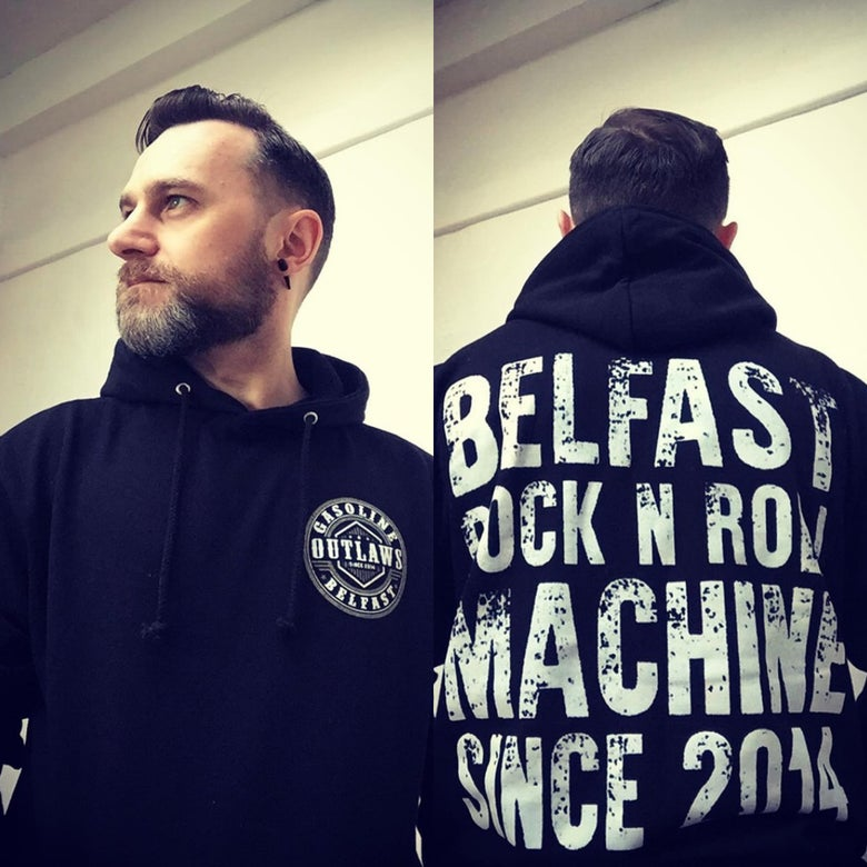 Image of Gasoline Outlaws Hoodie