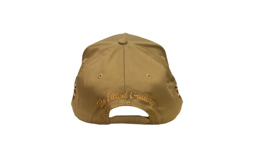 """Image of TFG Rodeo Collection """"Wild West"""" Tan Trucker Hat"""