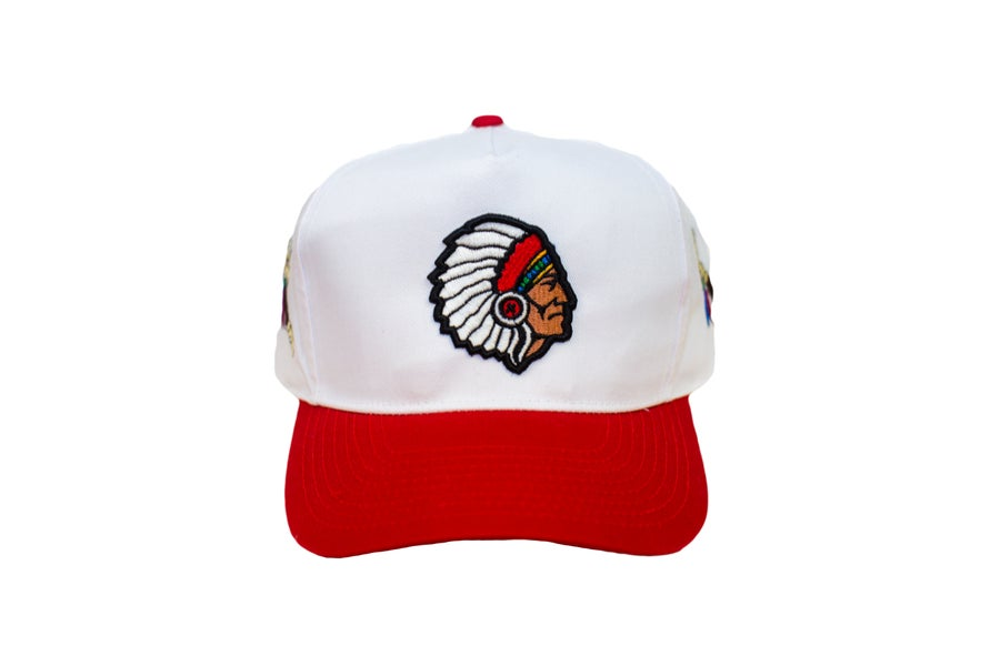 Image of TFG Indian Chief Trucker Red/White