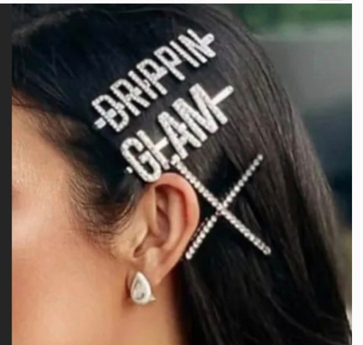 Image of Glam Word Pins
