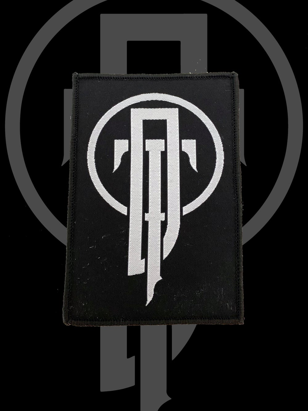 Image of DEADTHRONE logo patch
