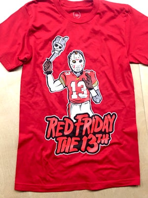 Image of Red Friday the 13th Shirt