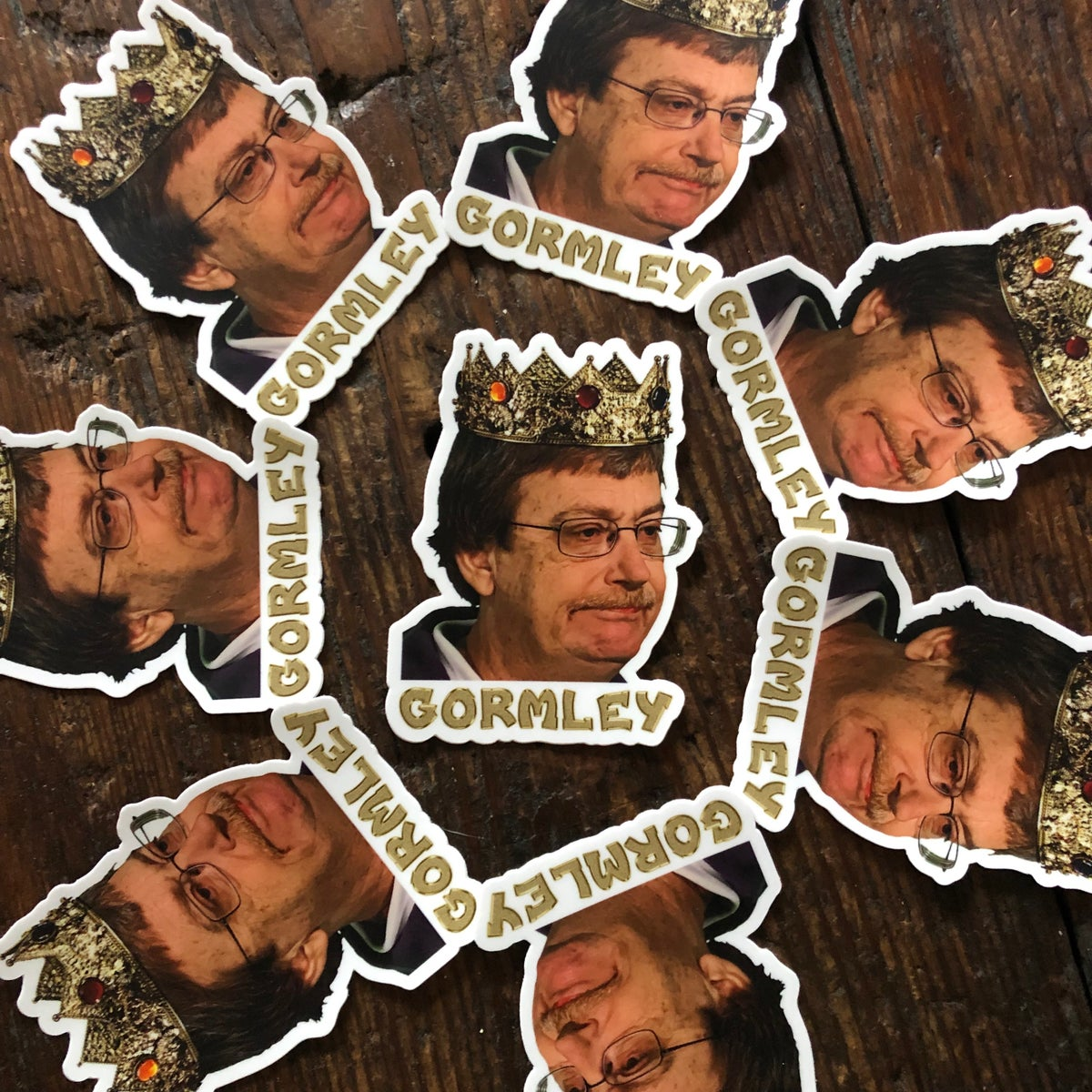 Image of Hail Gormley! 👑 (Limited Edition Mark Gormley Sticker)