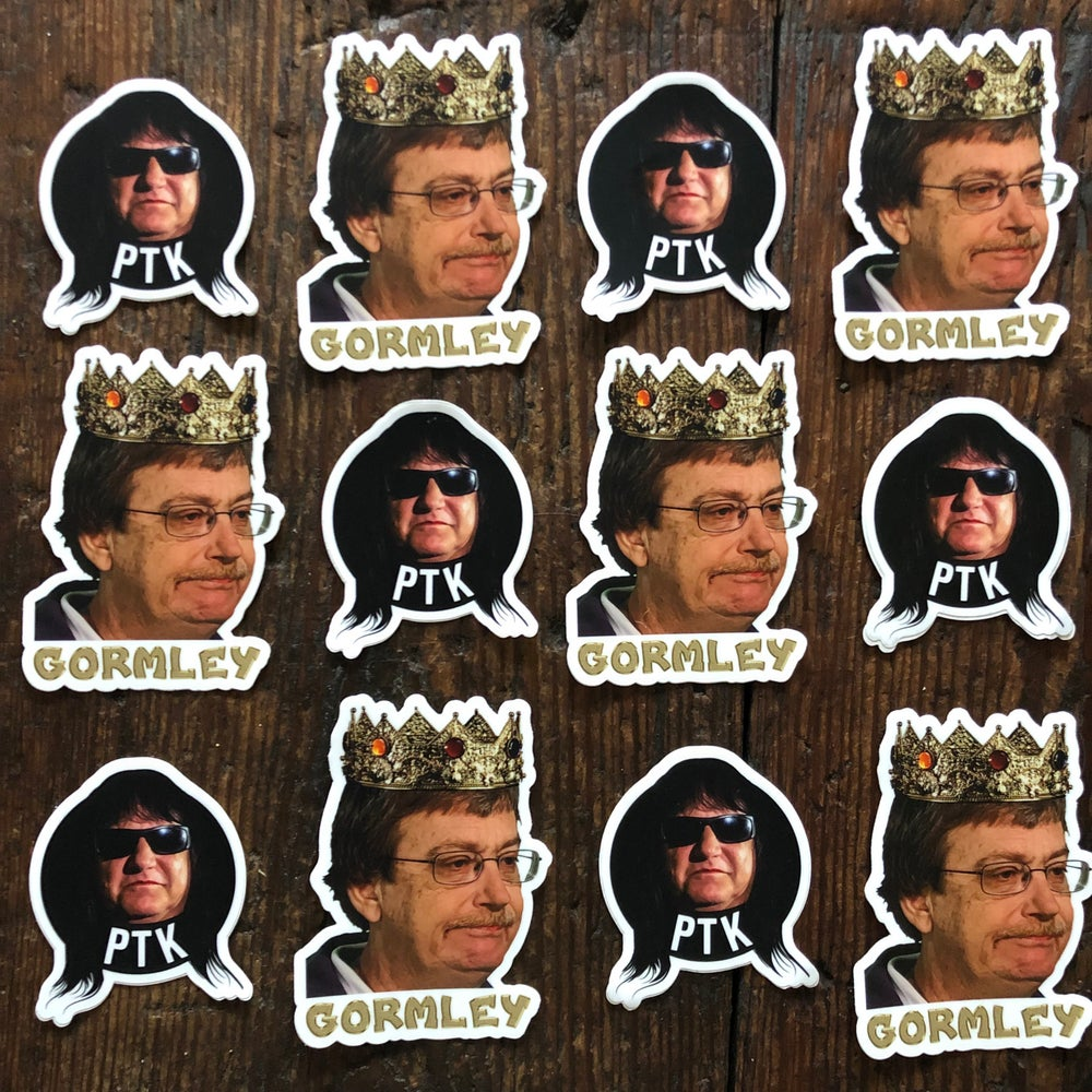 Hail Gormley! (Limited Edition Mark Gormley Sticker)
