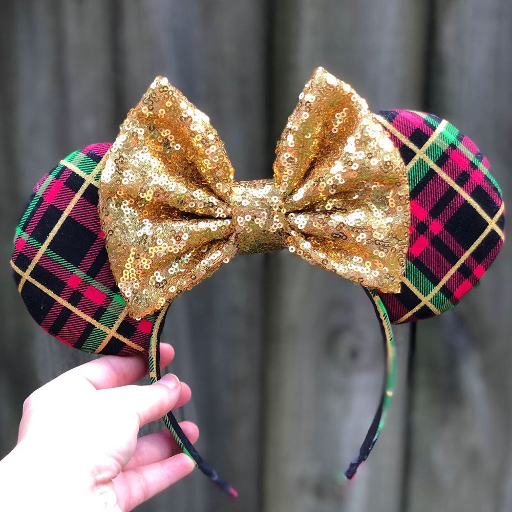 Image of Very Merry Plaid Ears