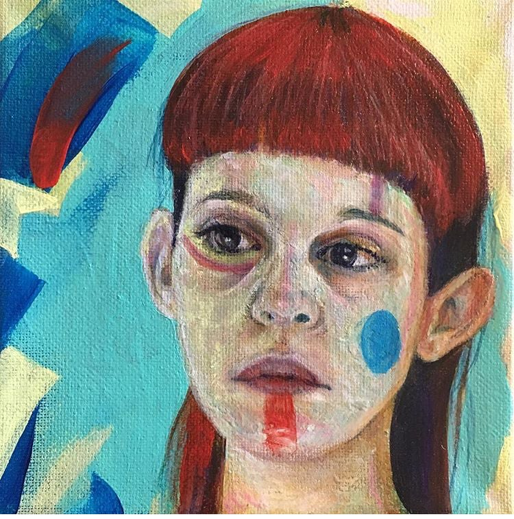 Image of Forget Me Not - Original Painting
