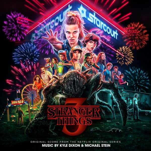 Image of Stranger Things Season Three CD - Kyle Dixon & Michael Stein