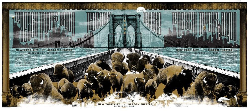 Tedeschi Trucks Band, Beacon residency - Triptych