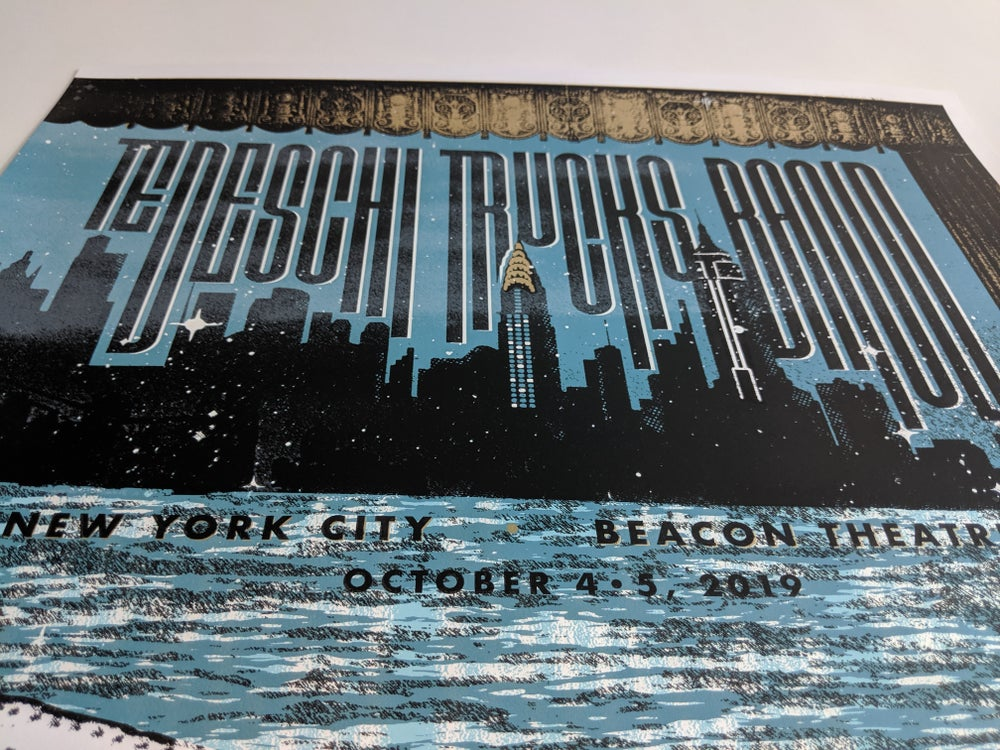 Tedeschi Trucks Band, Beacon residency - RIGHT SIDE ONLY