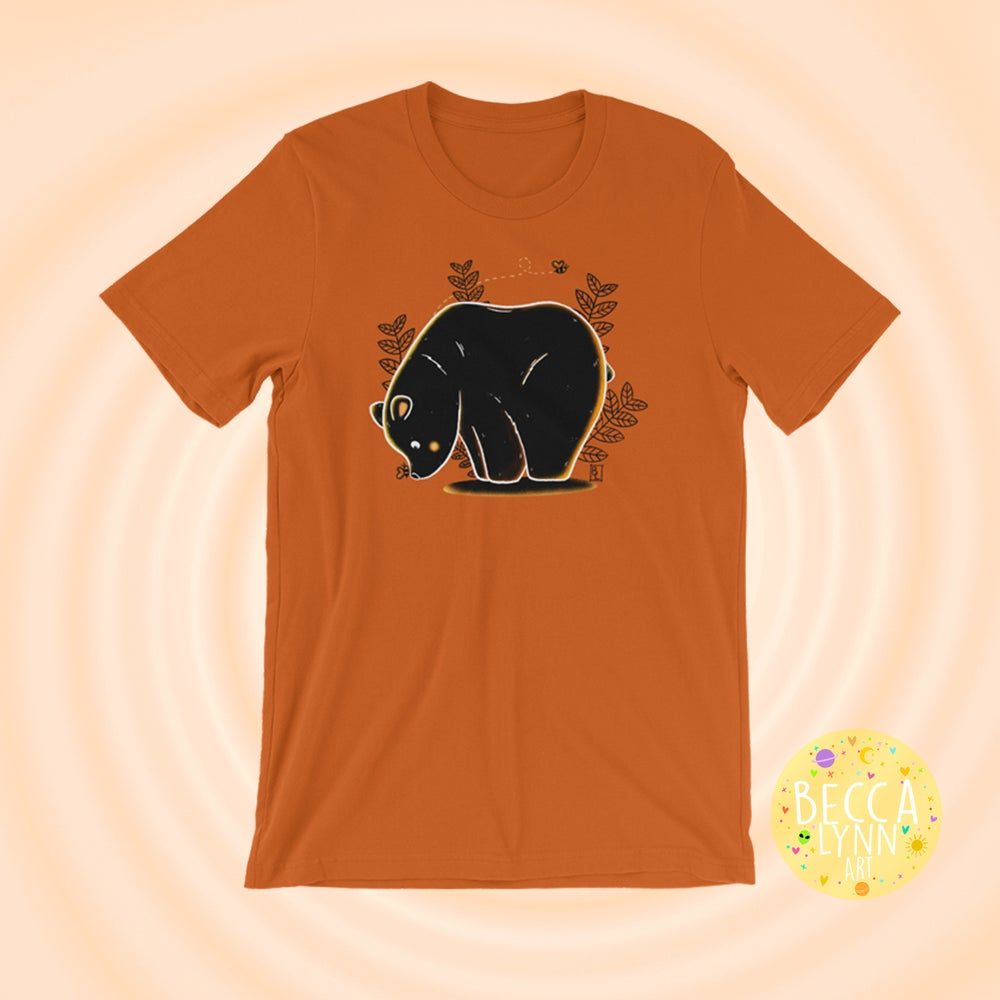 Image of Autumn Bear Unisex T-Shirt