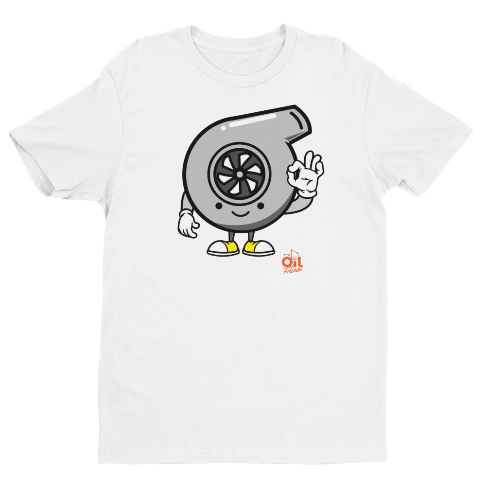 "Image of ""TURBO"" OIL AND FRIENDS T-SHIRT"