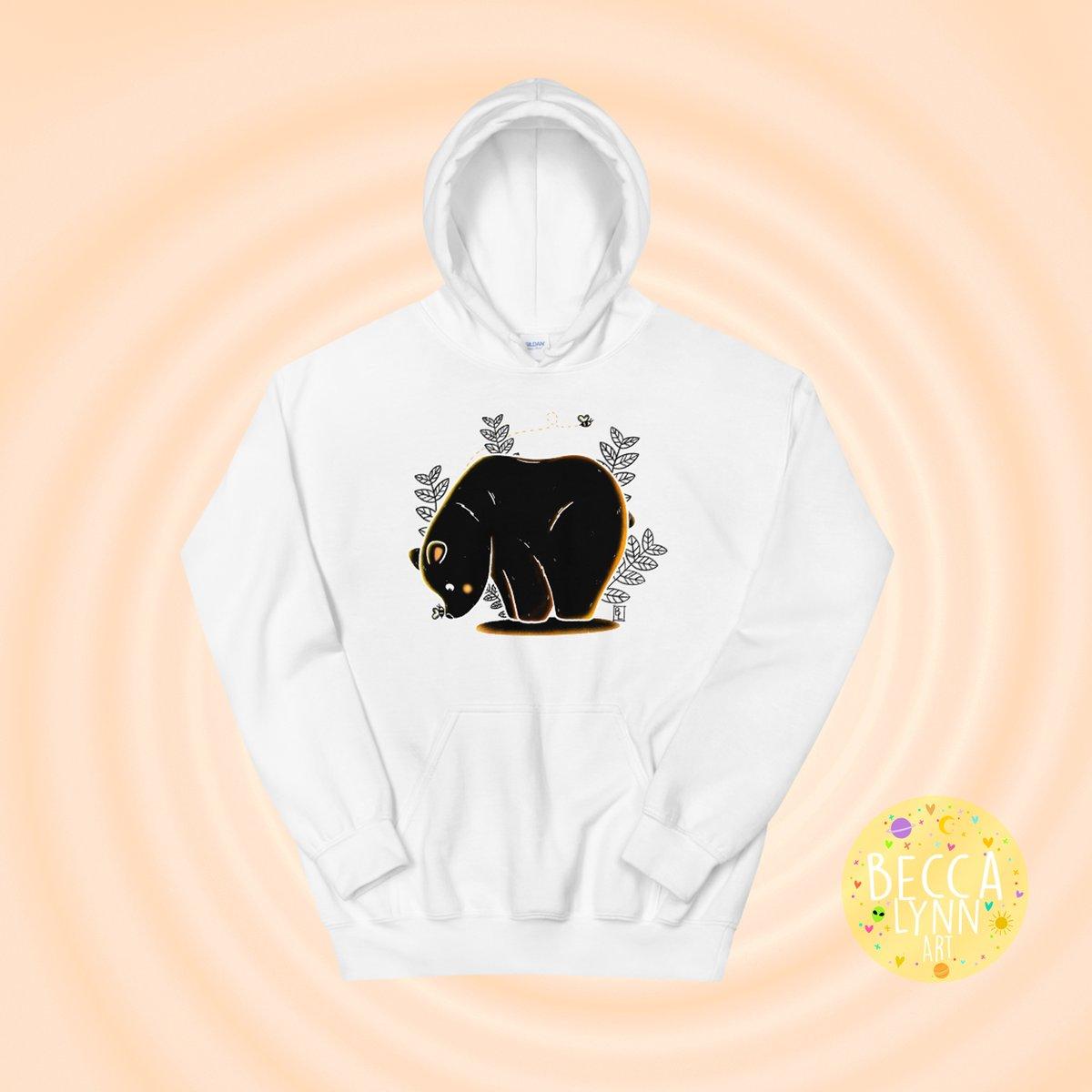 Image of Autumn Bear Unisex Hoodie