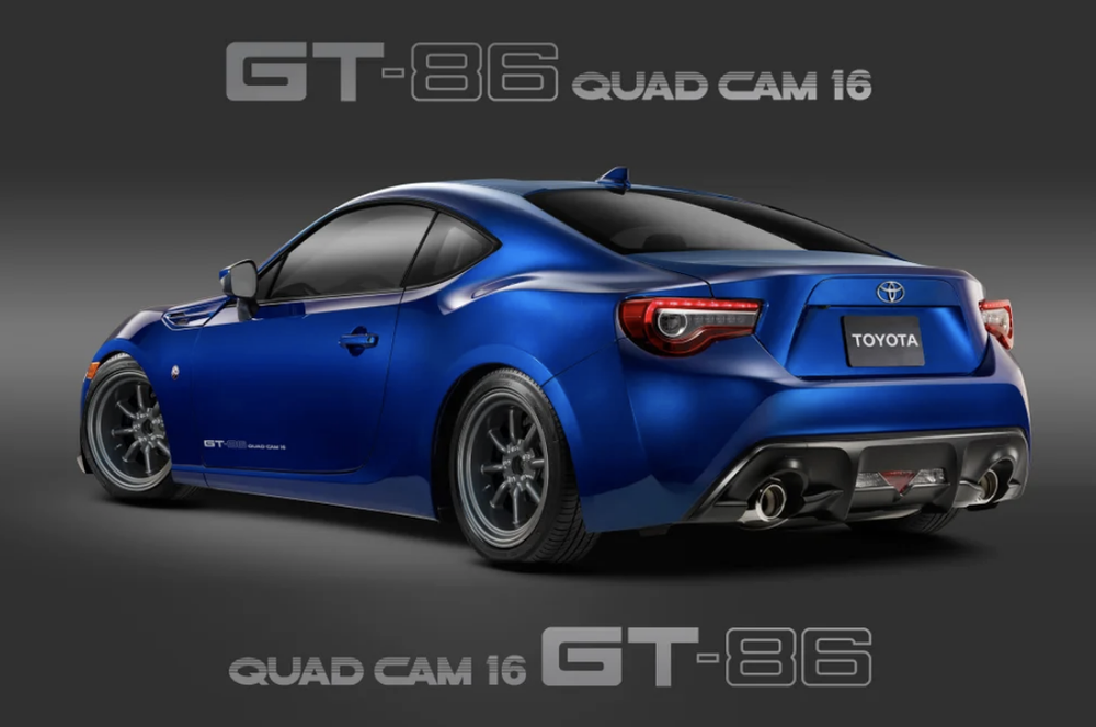 "Image of 5586 ""GT-86 QUAD CAM 16"" DECAL"