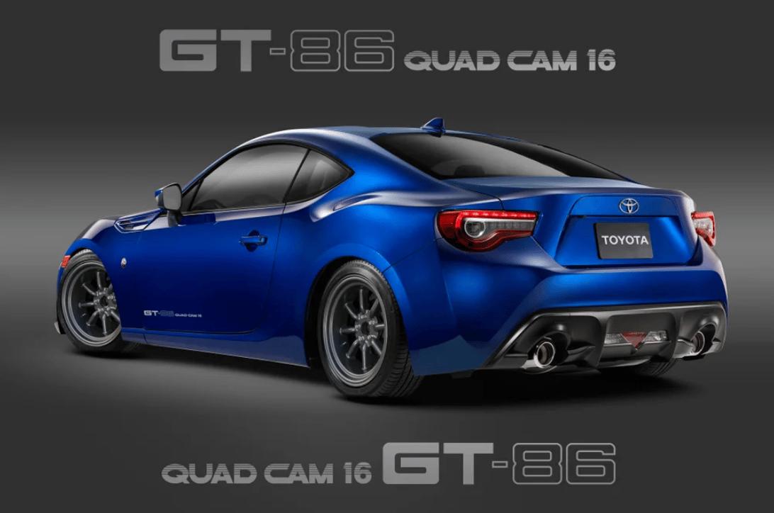 """Image of 5586 """"GT-86 QUAD CAM 16"""" DECAL"""