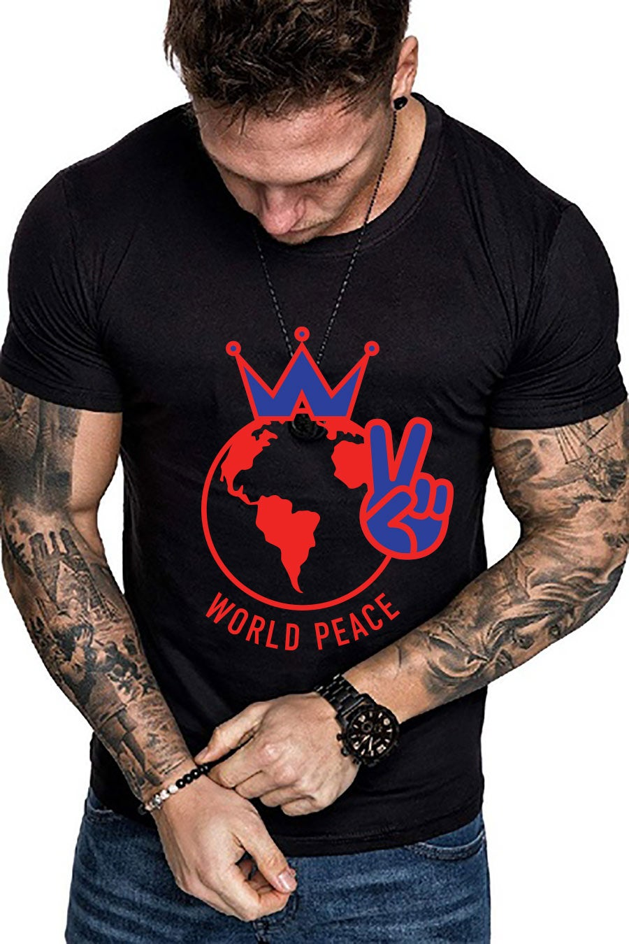 Image of World Peace-click for more colors