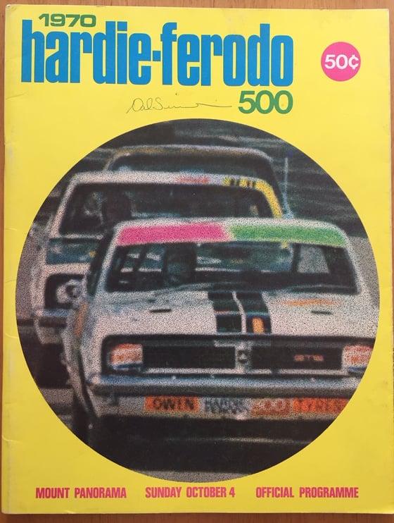 Image of 1970 BATHURST - HARDIE FERODO 500. MOFFAT & FORD WIN.