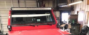 Image of Suzuki Samurai triple led light kit for windshield
