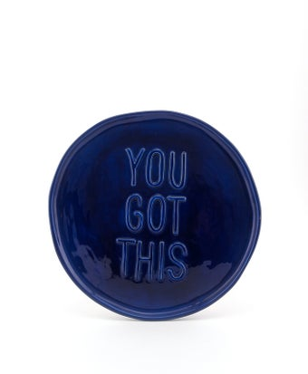 Image of You Got This Blue Plate