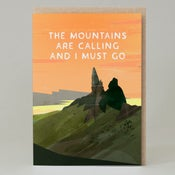 Image of Mountains are calling (Card)