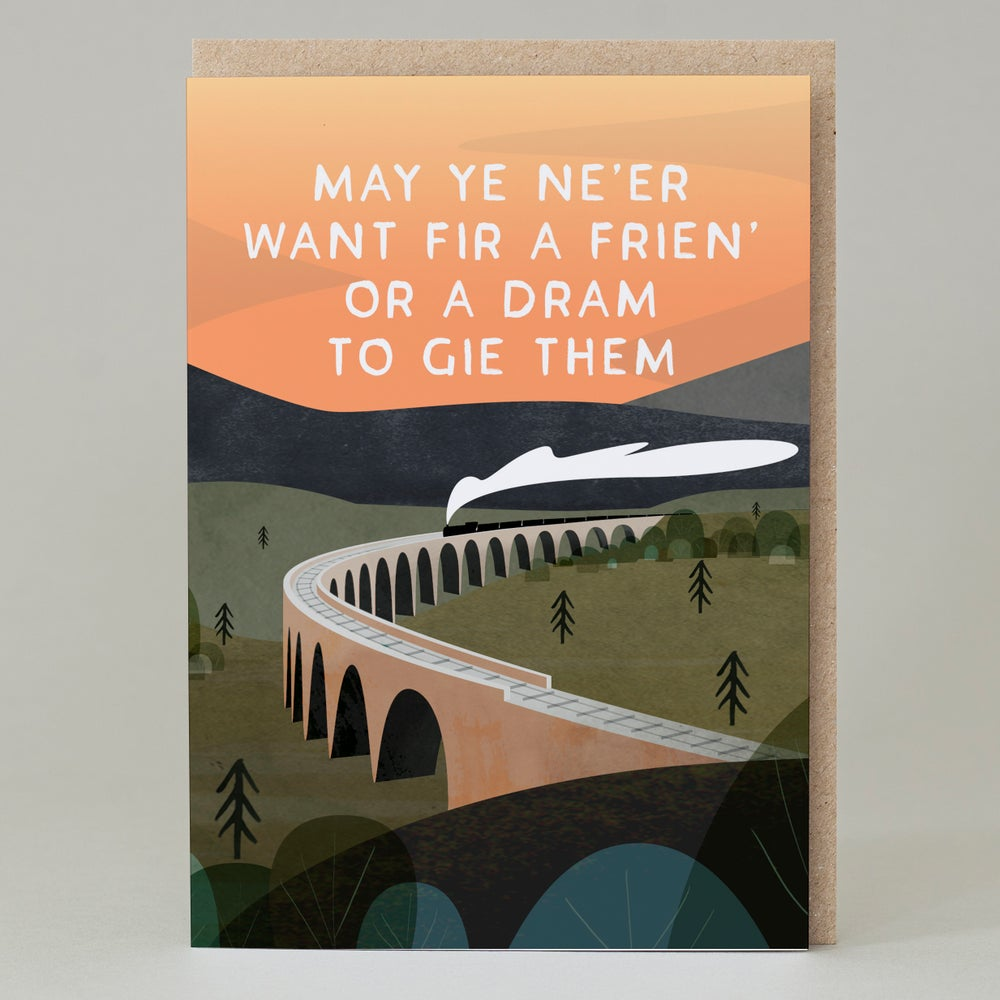 Image of Frien' or dram to gie them (Card)