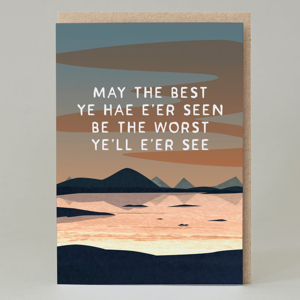 Image of May the best ye har e'er seen (Card)