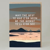 Image of May the best ye har e'er seen (Card) SC100